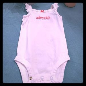2 Piece set onesie and bibs